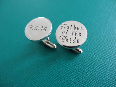 Wedding Cufflinks, set of two