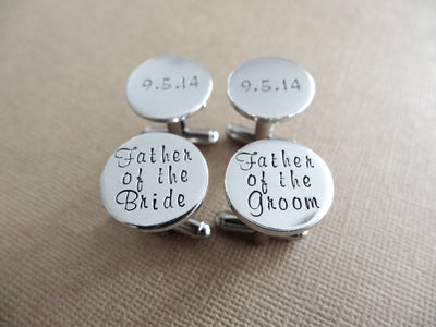 Wedding Cufflinks, Close Up