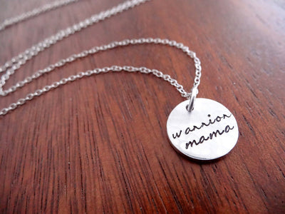 Warrior Mama Necklace