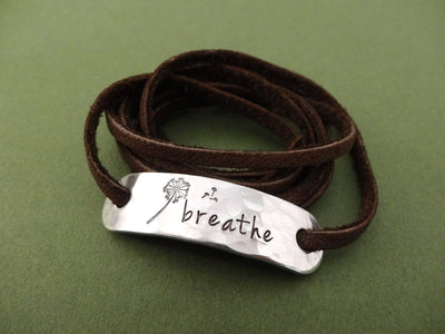 Breathe Bracelet, flat lay