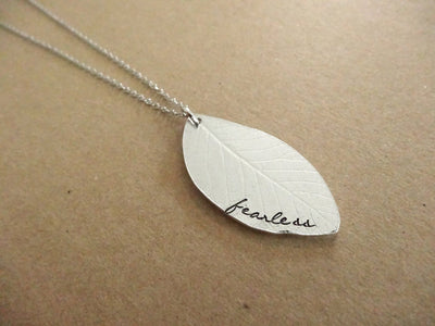 Fearless Necklace, wide view