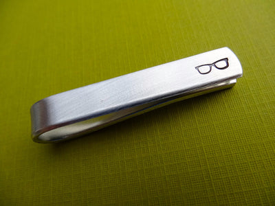 Glasses Tie Bar