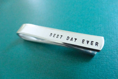 Best Day Ever Tie Clip