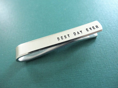 Best Day Ever Tie Clip - Wide angle