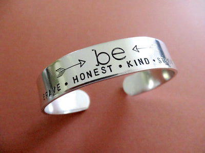 Be Brave Honest Kind Strong Bracelet