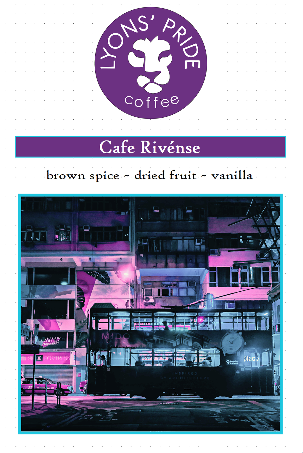 Cafe Rivense 10oz