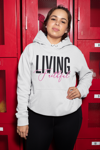 Living Faithful Women's Hoodie