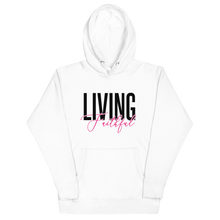 Load image into Gallery viewer, Living Faithful Women's Hoodie