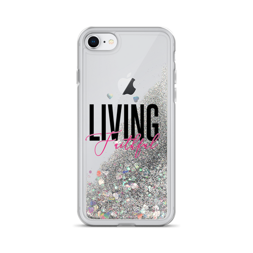 Living Faithful Liquid Glitter Phone Case