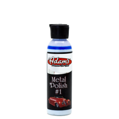 Adam's Metal Polish #1 (4oz) - Long Island Detailers
