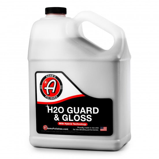 Adam's New H20 Guard & Gloss Gallon - Long Island Detailers