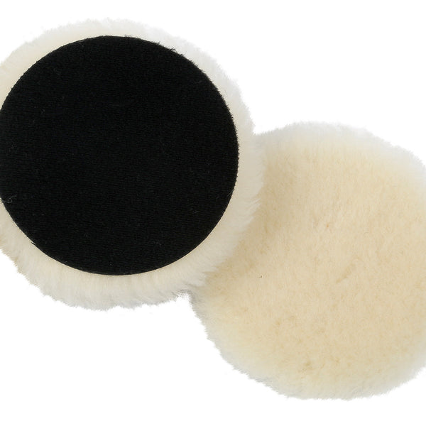 Lake Country Low Lint Wool Pads (no foam interface) - Long Island Detailers