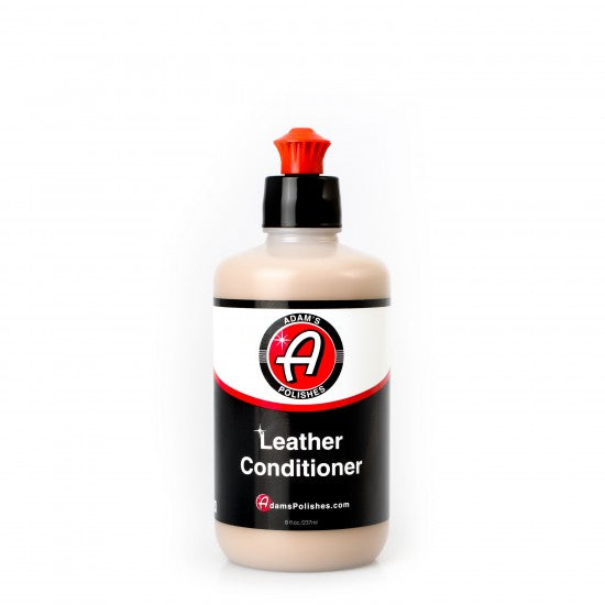 Adam's Leather Conditioner 8OZ - Long Island Detailers