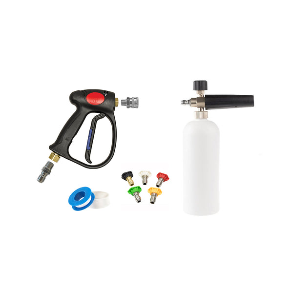 Comet MV925 Professional Swiveling Spray Gun & Foam Cannon Kit - Long Island Detailers