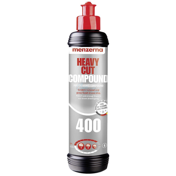 Menzerna Heavy Cut Compound 400 (8oz) - Long Island Detailers