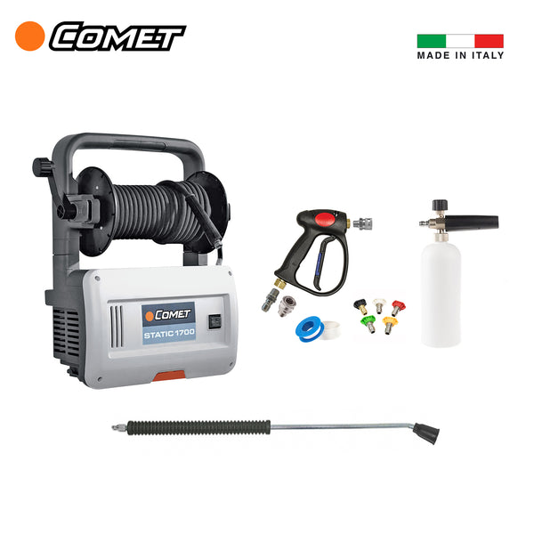 Comet Static 1700 Pro Detailer Pressure Washer Package - Long Island Detailers