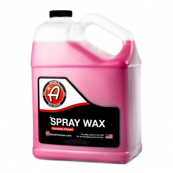 Adam's New Spray Wax Gallon - Long Island Detailers