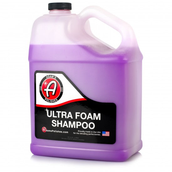 Adam's Ultra Foam Shampoo Gallon - Long Island Detailers