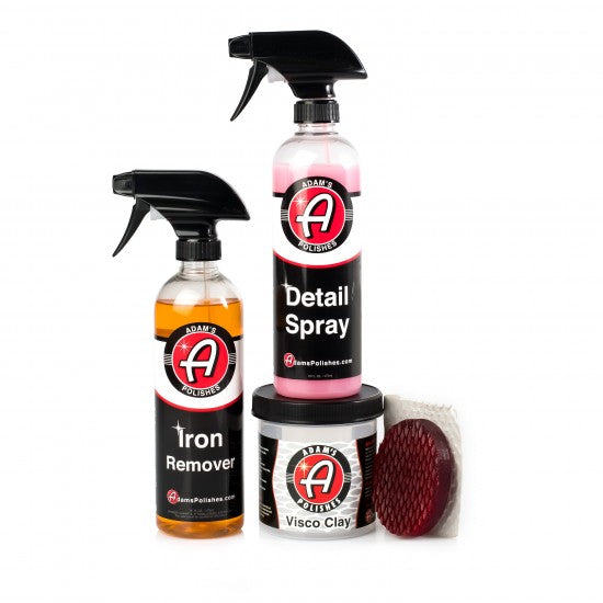 Adam's Iron & Contamination Removal Kit - Long Island Detailers