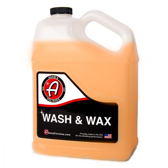 ADAM'S WASH & WAX GALLON - Long Island Detailers