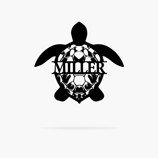 Sea Turtle Monogram