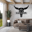 Load image into Gallery viewer, Bull Skull Monogram