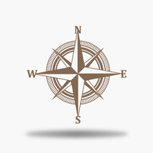 Load image into Gallery viewer, Nautical Compass Sign