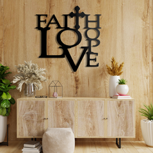 Load image into Gallery viewer, Faith Love Sign
