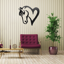 Load image into Gallery viewer, Horse Heart Sign