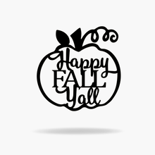 Load image into Gallery viewer, Happy Fall Y'all Sign