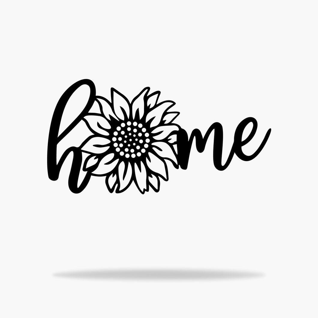 Sunflower Home Sign
