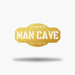Load image into Gallery viewer, Personalized Man Cave Sign