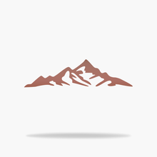 Load image into Gallery viewer, Mountain Sign