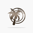 Load image into Gallery viewer, Palm Tree Monogram