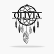 Load image into Gallery viewer, Dream Catcher Monogram