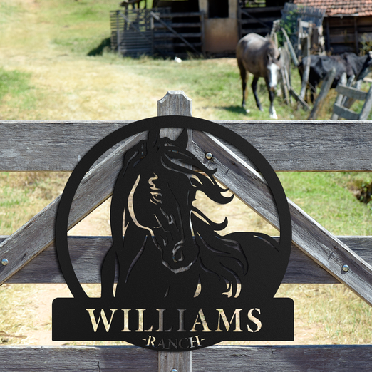 Horse Ranch Monogram