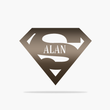 Load image into Gallery viewer, Custom Super Dad Sign