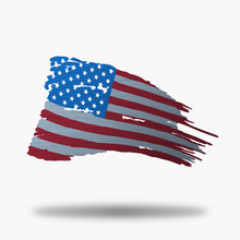 Load image into Gallery viewer, Tattered US Flag