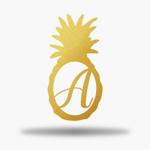 Pineapple Monogram Initial