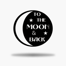 Load image into Gallery viewer, Moon & Back