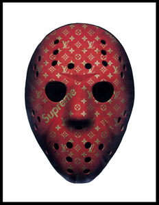 Hyped Jason Print - Art by Bankrupt