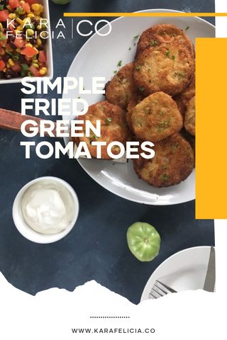 fried green tomatoes pinterest pin