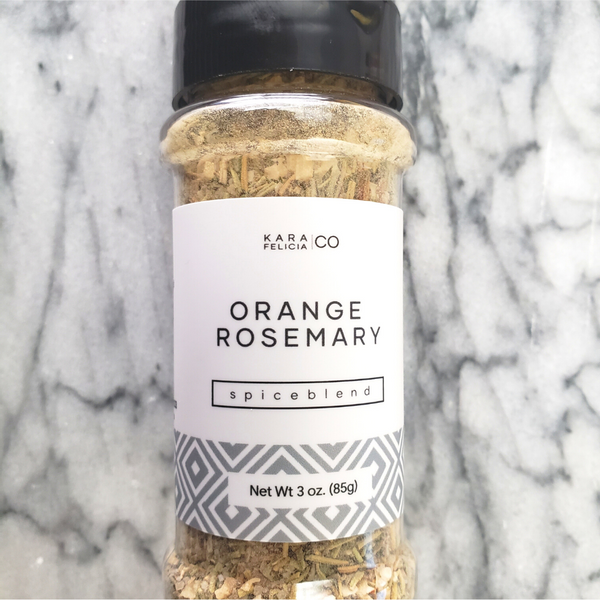 Orange Rosemary Spice Blend
