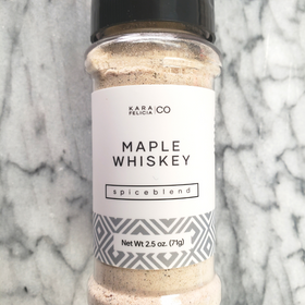 Maple Whiskey Spice Blend