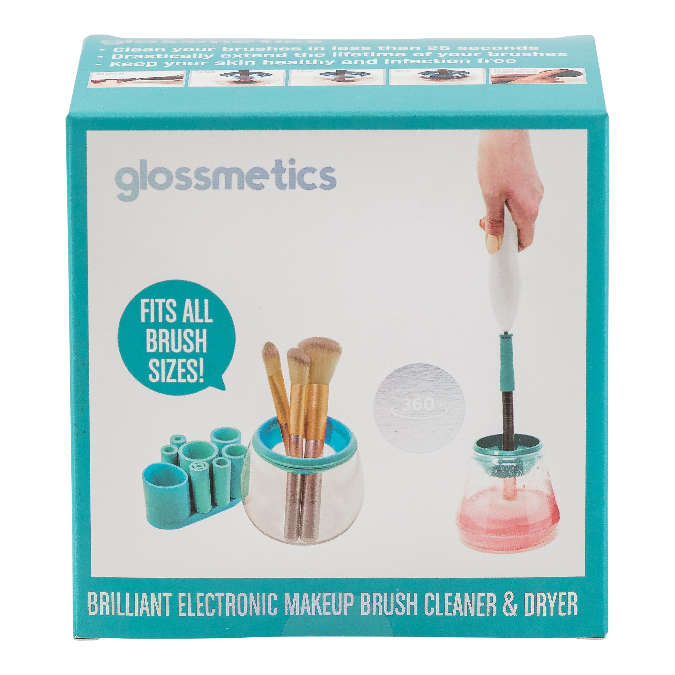 Glossmetics Electronic Makeup Brush Cleaner