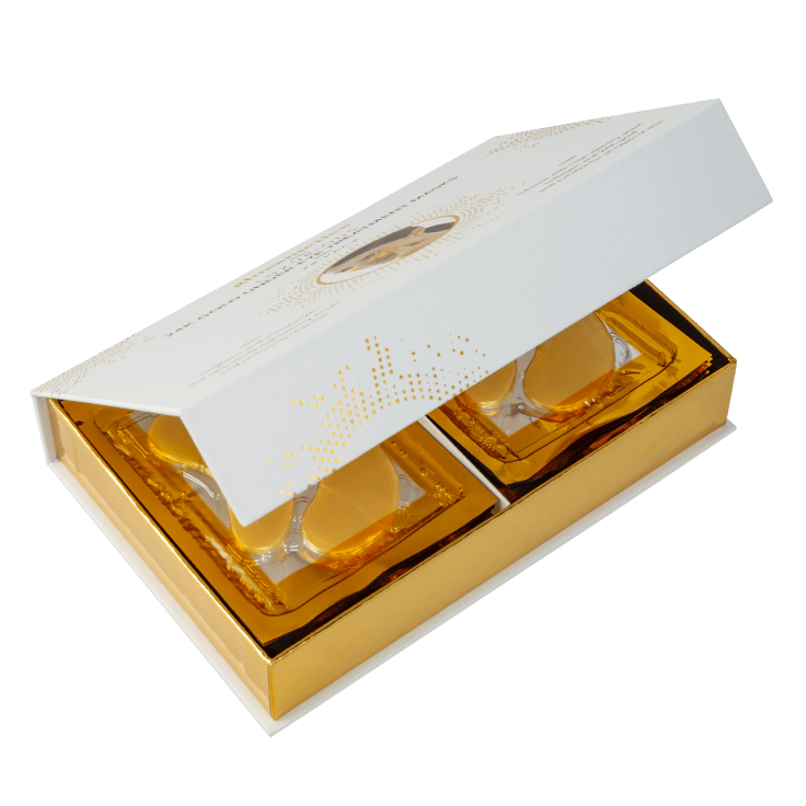 Glossmetics Luxurious 24K Gold Under Eye Treatment Masks - 24-Pairs