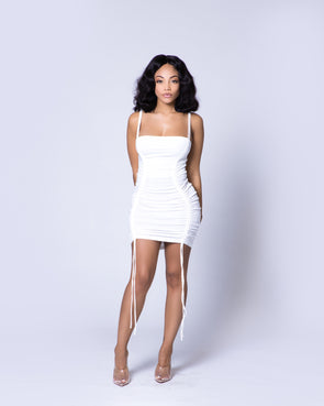 Quinn Mini Dress | White