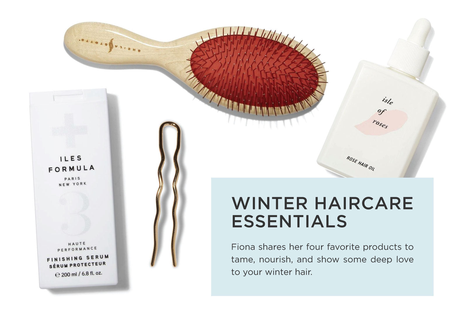 WINTER HAIRCARE ESSENTIALS