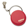 Arpin Hand Bag Mirror. Regular and 7 x magnifying purse sized mirror with silver grey tassel. Exceptional mirror quality. Made in France.