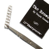 "Brow Gal Tweezer Sharpener. Extend the life of your tweezers with this ""matchbook"" of 12 individual tweezer sharpeners."